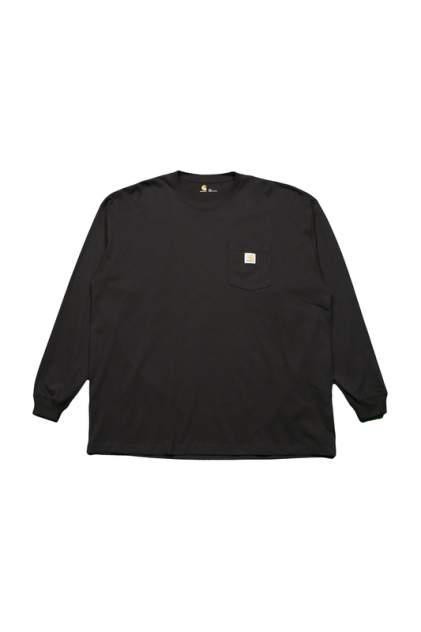 Лонгслив мужской CARHARTT K126BLK черный 2XL