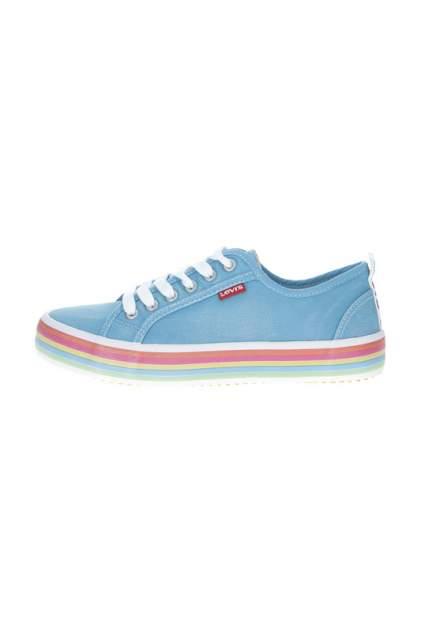 Кеды женские Levi's 5657 голубые 38 RU