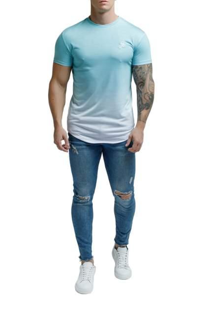 Футболка мужская Sarman SC3 голубая S