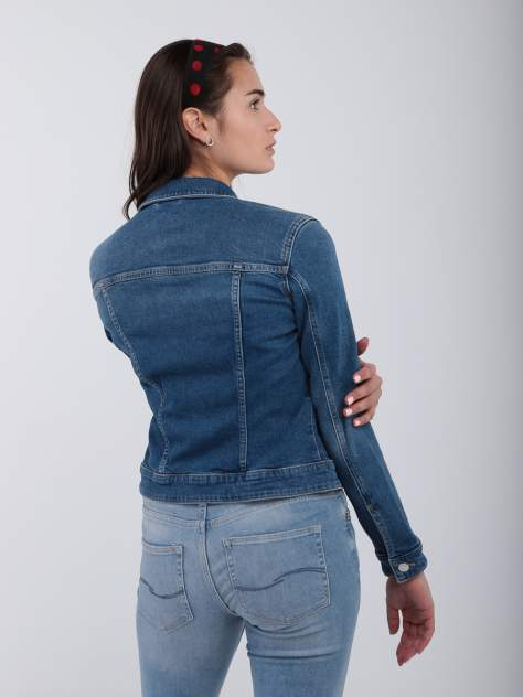 Джинсовая куртка женская Q/S SQ63482 синяя XS