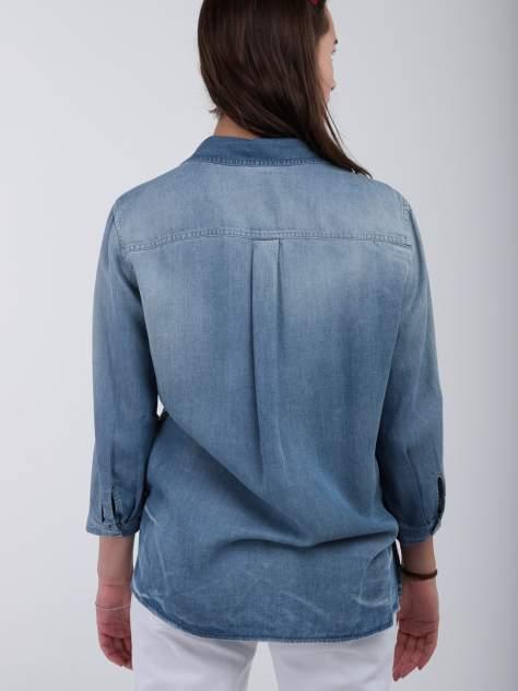 Рубашка женская LeComte SQ63854 синяя 36