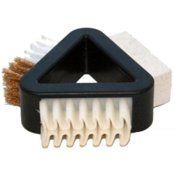 Щетка комбинированная для замши,нубука,велюра Salrus 99156