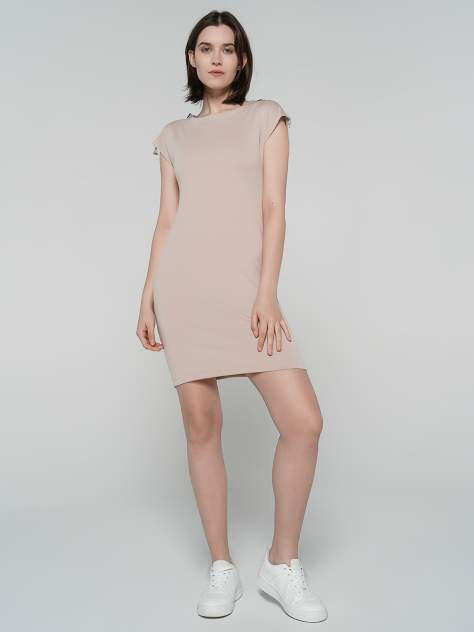 Платье женское ТВОЕ 79882 бежевое S