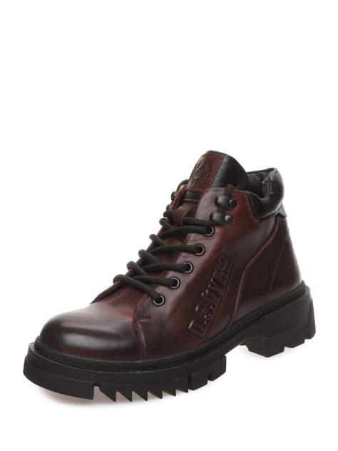 Ботинки женские MAKFLY 116MF-2-1, бордовый