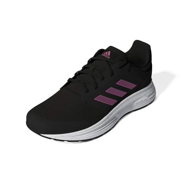 Кроссовки женские Adidas Galaxy 5 черные 7 UK