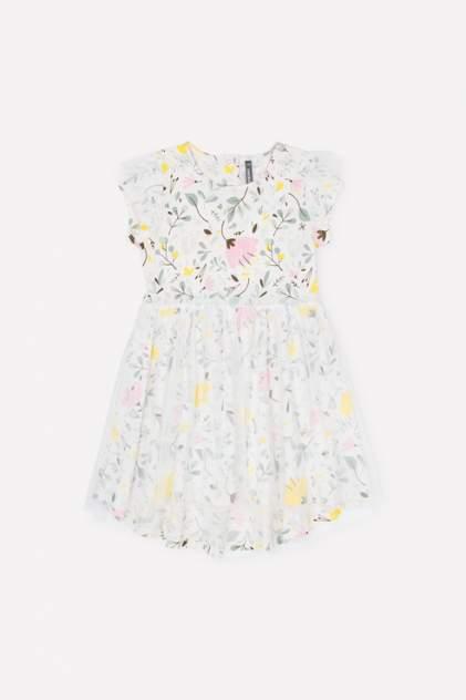 Платье детское CROCKID, цв.белый