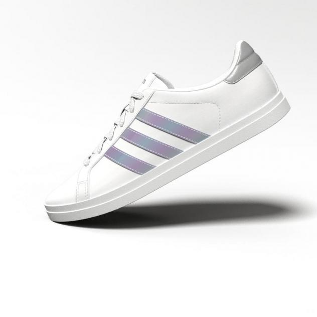 Кеды женские, Adidas Courtpoint, белый
