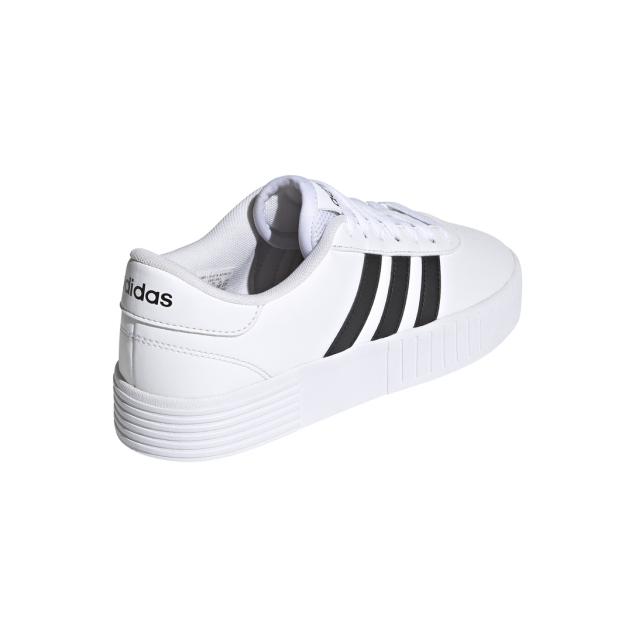 Кеды женские Adidas Court Bold белые 5 UK