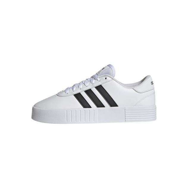 Кеды женские Adidas Court Bold белые 6 UK