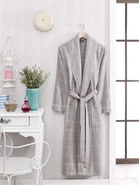 Домашний халат мужской Philippus Seriate серый 2XL