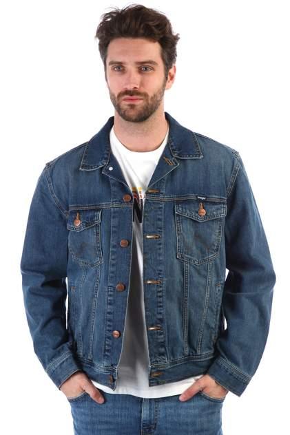 Джинсовая куртка мужская Wrangler SQ23760 синяя L