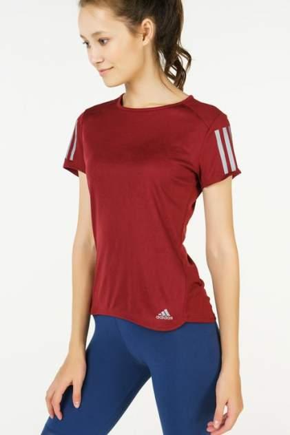 Футболка женская Adidas CZ3705 красная 40-42