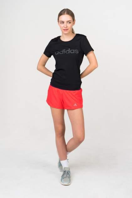 Футболка женская Adidas DS8724 черная 40-42