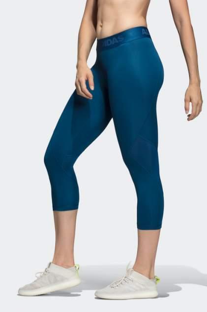 Бриджи женские Adidas DU6518 синие 40-42