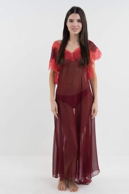 Ночная сорочка женская D'amore 17002 красная 40-42