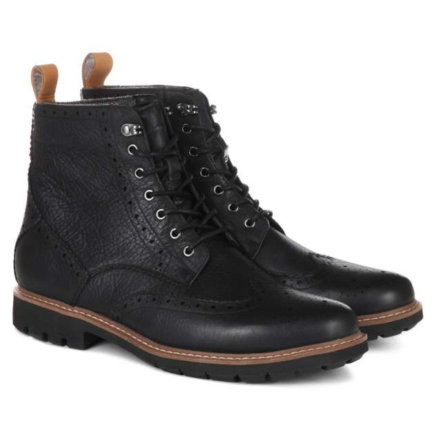 Мужские ботинки Clarks Batcombe Lord, черный