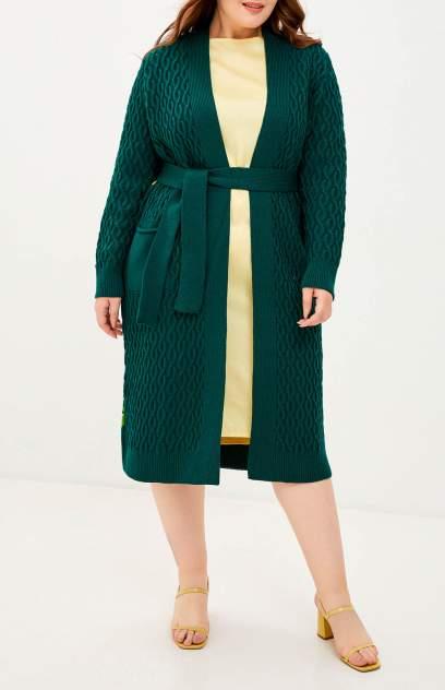 Кардиган женский MILANIKA 1083 зеленый 42-44 RU