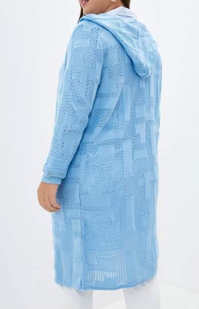 Кардиган женский MILANIKA 1176 голубой 50 RU