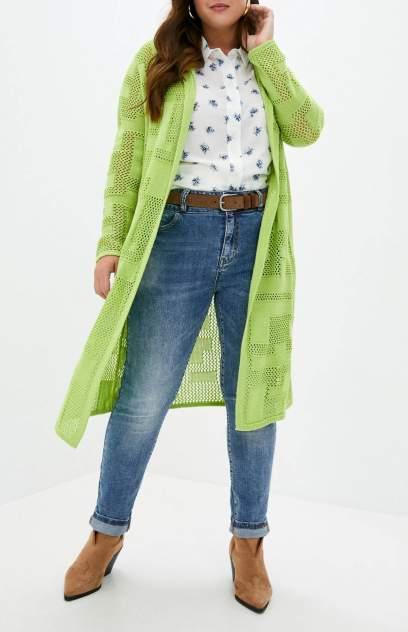 Кардиган женский MILANIKA 1176 зеленый 48 RU