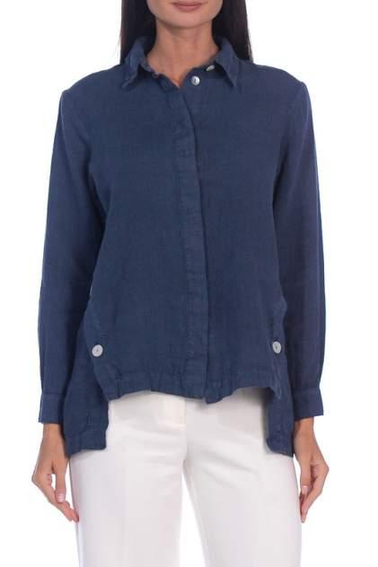 Рубашка женская DEJA FASHION 710 синяя 48