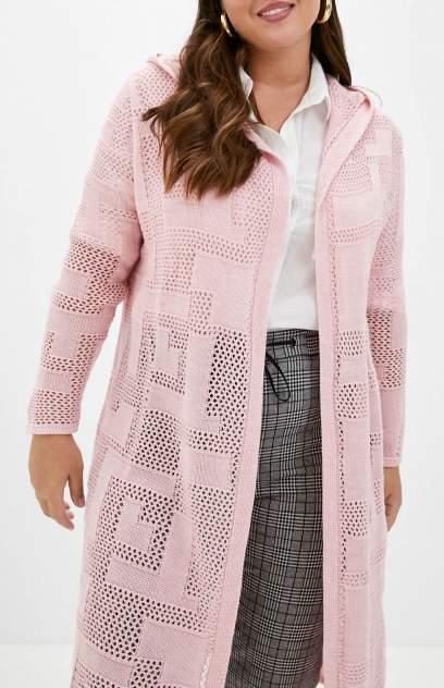 Кардиган женский MILANIKA 1176 розовый 50 RU