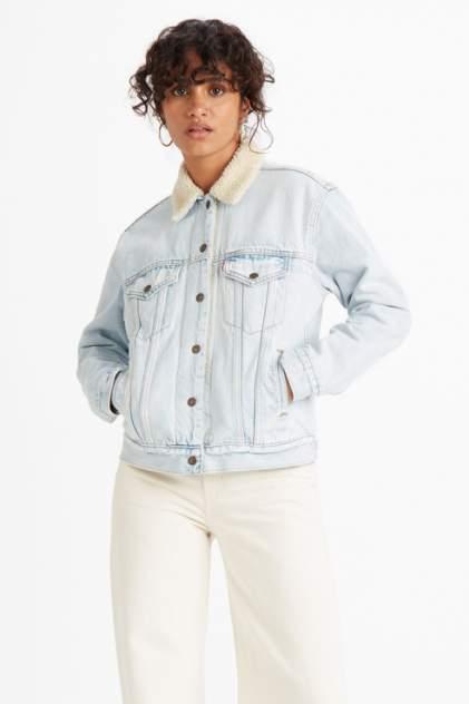 Джинсовая куртка женская Levi's 3613700310 голубая L