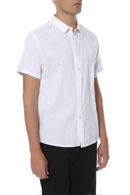 Рубашка мужская CUDGI STU 1809 белая 48