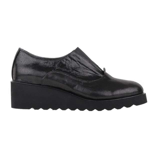 Полуботинки женские Shoes Market 482-Y-100-128 черные 39 RU
