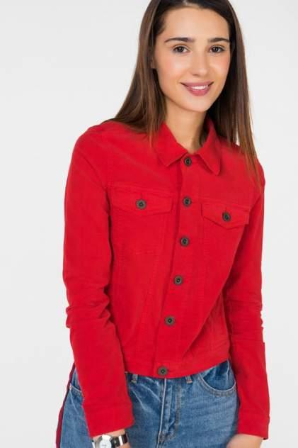 Джинсовая куртка женская Marc O'Polo 103570165/344 красная 46