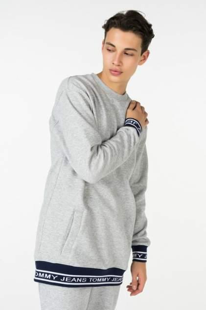 Толстовка мужская Tommy Jeans DM0DM05159, серый