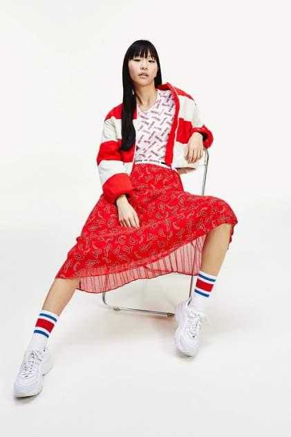 Женская юбка Tommy Jeans DW0DW08080, красный