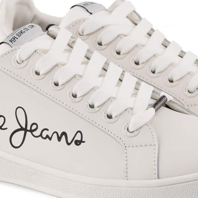 Кеды женские Pepe Jeans BROMPTON PLS30864 белые 36 EU
