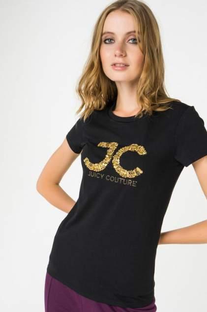 Футболка женская Juicy Couture WTKT163388/009 черная L