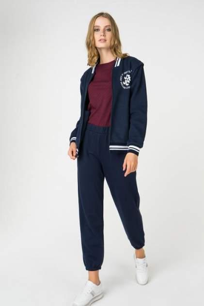 Толстовка женская Juicy Couture JWFKJ160856/419 синяя 46