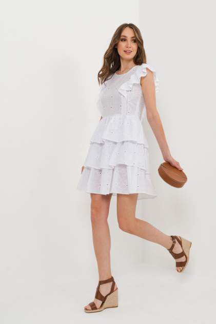 Женское платье ELARDIS El_W10343, белый