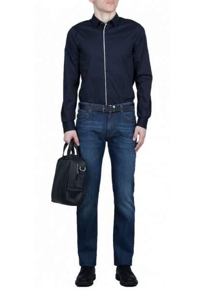 Рубашка мужская Emporio Armani 99159 синяя M