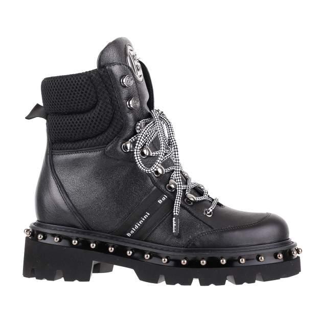 Ботинки женские Baldinini 014020P13ZGLOKNENE черные 37 RU