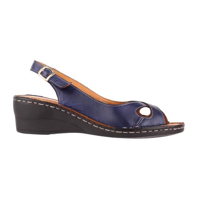 Туфли женские LA PINTA 611-5007 синие 40 RU