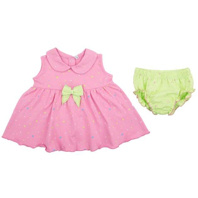 Комплект одежды Leader Kids, цв. розовый, зеленый