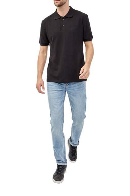 Футболка-поло мужская Tom Farr 4025.58_W20 черная L