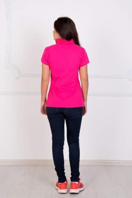 Поло женское LikaDress 1322 розовое 40