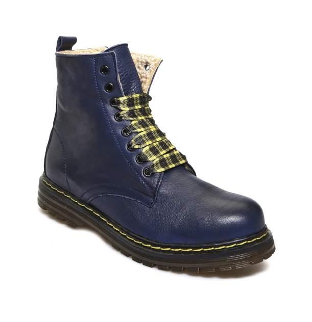 Ботинки женские El Tempo EBR2_124_1 синие 39 RU