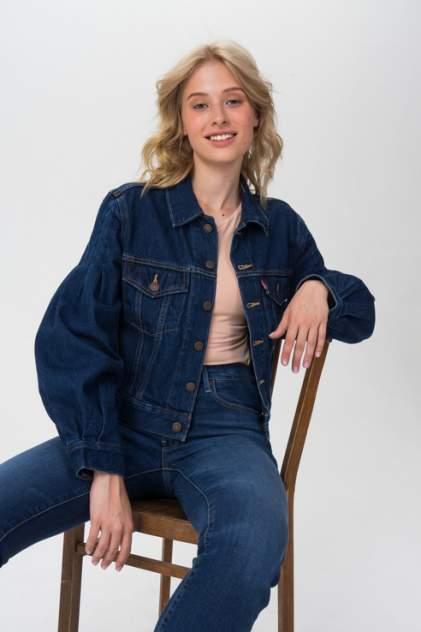 Джинсовая куртка женская Levi's 3756900000 синяя L
