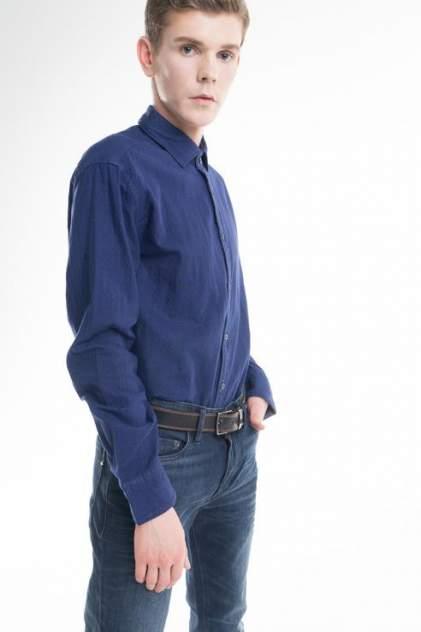 Рубашка мужская Marc O'Polo 735542348/H80 синяя 48