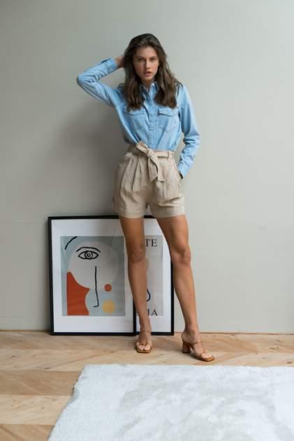 Женские шорты Guess W0GD40WCUG0, бежевый
