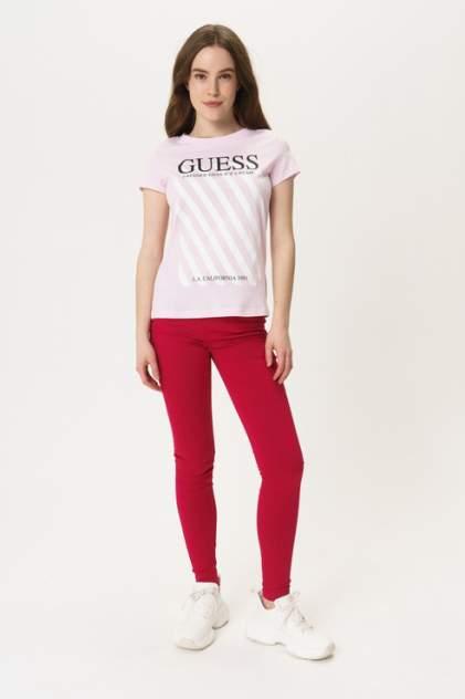 Футболка женская Guess W0GI57JA900 розовая L