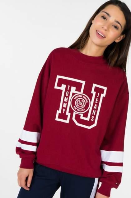 Толстовка Tommy Jeans DW0DW05107, красный