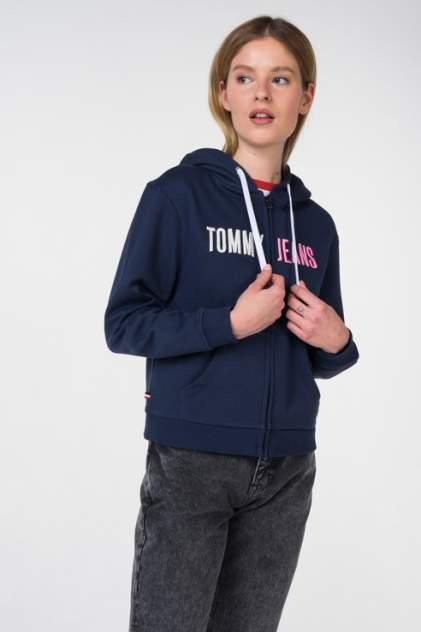 Толстовка женская Tommy Jeans DW0DW05690 синяя 48