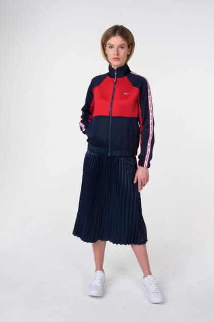 Толстовка женская Tommy Jeans DW0DW05699 разноцветная 48