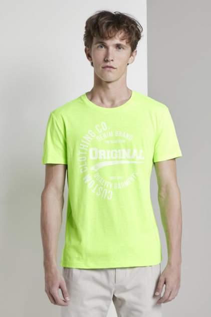 Футболка мужская TOM TAILOR 1008171 зеленая L